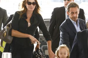 Nicolas Sarkozy complètement gaga de sa fille :