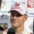 Mick Schumacher, le fils de Michael Schumacher, lors de sa victoire dans le Grand Prix de Monza en Formule 4 en Italie le 30 octobre 2016