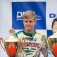 Mick Schumacher en octobre 2014, vice-champion d'Allemagne junior de karting.