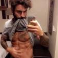 Ricardo Pinto avec sept kilos en moins. Avril 2017.