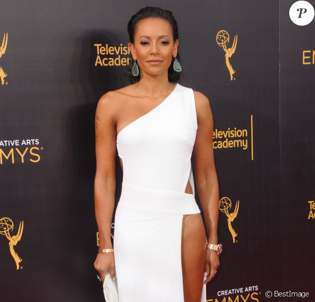 Melanie Brown (Mel B) à la soirée Creative Arts Emmy Awards à Los Angeles, le 10 septembre 2016 © Birdie Thompson/AdMedia via Zuma/Bestimage