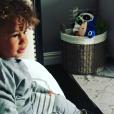 Genesis, le fils d'Alicia Keys et Swizz Beatz, prouve qu'il sait déjà manier l'art du beatbox à seulement 2 ans ! (avril 2017)
