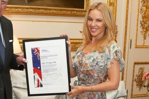 Kylie Minogue : Moment de gloire avec un prince très charmant