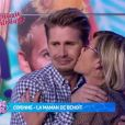 "Benoît Dubois en larmes après avoir vu sa maman Corinne - ""Mad Mag"", mardi 11 avril 2017, NRJ12"