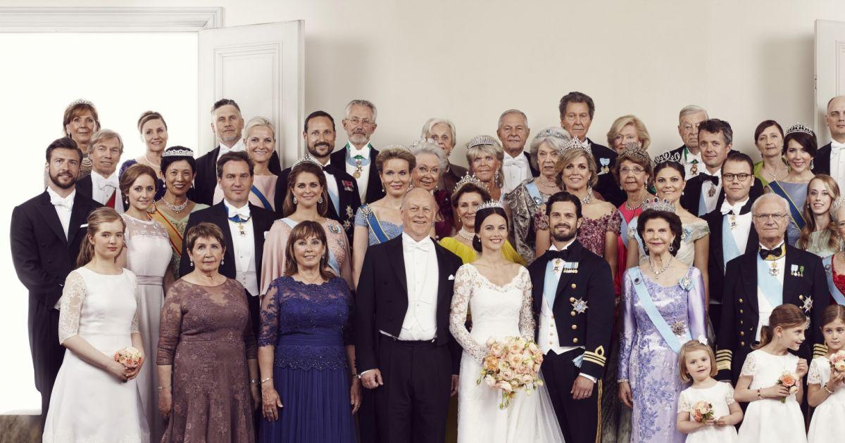 Le prince Carl Philip de Suède et sa femme la princesse ...