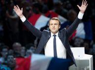 Emmanuel Macron acclamé et soutenu par les femmes de sa vie au meeting de Bercy