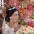 Le prince Carl Philip de Suède et la princesse Sofia (Hellqvist) lors de leur mariage à Stockholm le 13 juin 2015. Le couple a annoncé le 23 mars 2017 attendre son deuxième enfant.