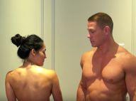 John Cena et Nikki Bella : Les fiancés stars du catch tout nus face caméra !
