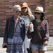 Laeticia et Johnny Hallyday : Aux urnes et entourés de leurs amis à Los Angeles