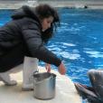 Gessica Notaro travaille à l'aquarium de Rimini, où elle a rencontré son ex-compagnon dont elle s'est séparée l'été dernier. Photo publiée sur sa page Facebook, le 20 août 2016