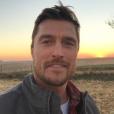 Chris Soules a publié une photo de lui sur Twitter, le 10 avril 2017