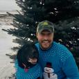 Chris Soules et son chien - Photo publiée sur Twitter le 14 février 2017