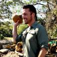 Chris Soules en vacances au Costa Rica - Photo publiée sur Twitter le 2 février 2017
