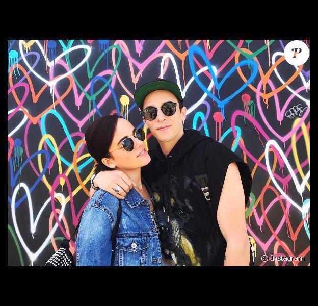 Alizée et Grégoire Lyonnet en vacances à Los Angeles fin avril 2017