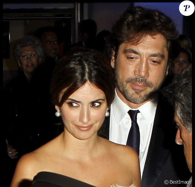Javier Bardem et sa femme Penélope Cruz lors du Festival de Cannes 2010