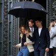 Laura Smet à l'issue du défilé de mode Chanel, collection croisière 2018 au Grand Palais à Paris. Le 3 mai 2017 © CVS / Bestimage