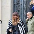 Caroline de Maigret à l'issue du défilé de mode Chanel, collection croisière 2018 au Grand Palais à Paris. Le 3 mai 2017 © CVS / Bestimage