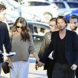 Ian Somerhalder et sa femme Nikki Reed arrivent à l'émission Jimmy Kimmel Live! à Los Angeles, le 6 mars 2017 © CPA/Bestimage