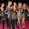 Cheryl Cole, Kimberley Walsh, Nicola Roberts, Sarah Hardingnadine Coyle - Les Girls Aloud à la première de St Trinians à Londres, le 10 décembre 2007