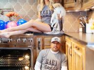 Jason Aldean : Drôle de photo pour annoncer la grossesse de sa femme Brittany...