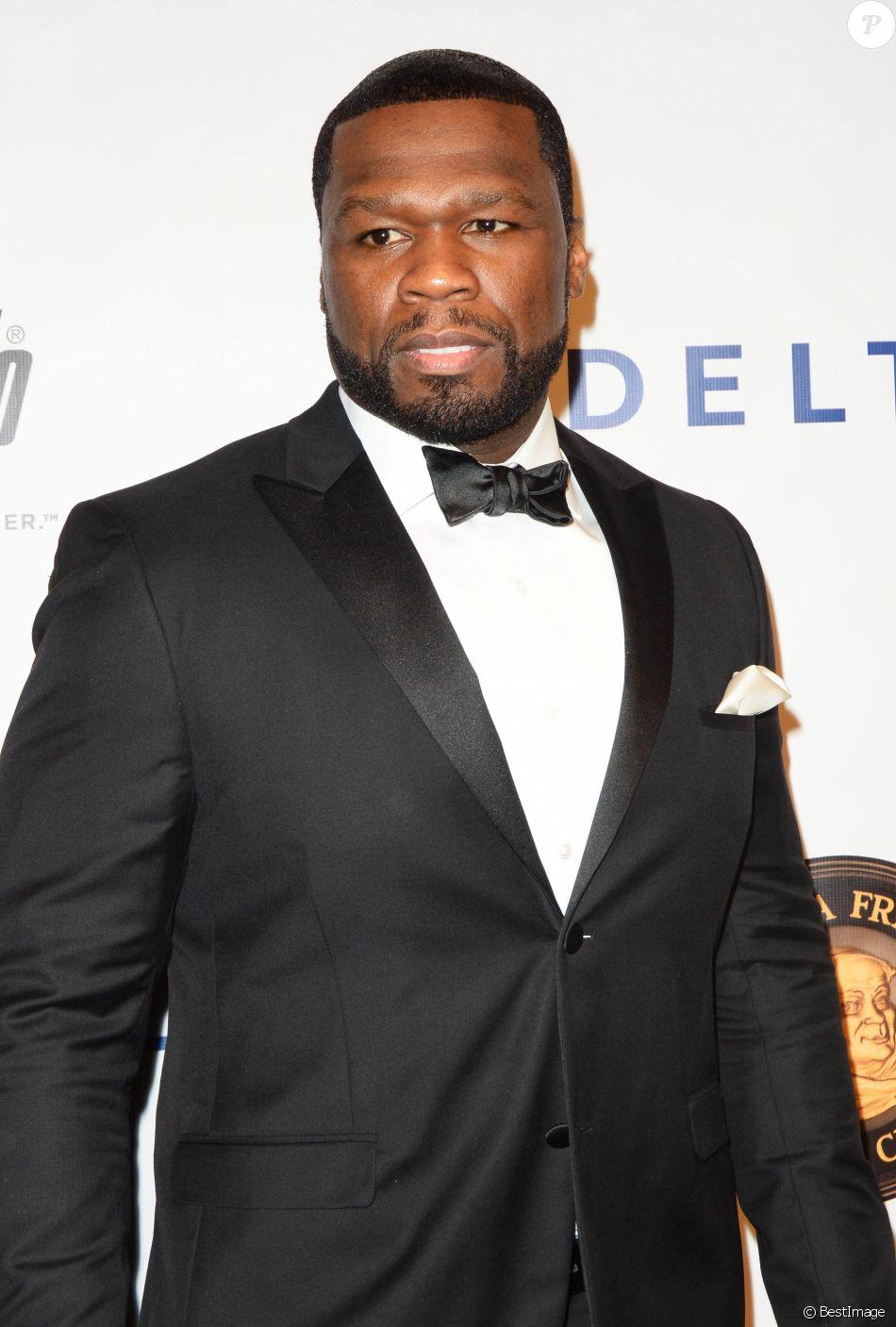 """50 Cent (Jackson Curtis) - People à la soirée """"Friars Club Entertainment Icon Award Presentation"""" à New York le 21 septembre 2016."""