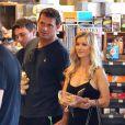 Exclusif - Joanna Krupa et son mari Romain Zago à West Hollywood, Los Angeles, le 7 juollet 2016.
