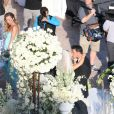 Exclusif - No Web - No Blog - Mariage de Joanna Krupa et Romain Zago a l'hotel Park Hyatt Aviara a Carlsbad, le 13 juin 2013.  For Germany call for price Exclusive - NO web - NO blog - With cameras rolling and her reality TV co-stars in tow, 'The Real Housewives of Miami' star Joanna Krupa marries nightclub owner and businessman Romain Zago at a lavish ceremony at the Park Hyatt Aviara in Carlsbad, California on June 13, 2013. The 34 year old Polish bombshell walked down the aisle wearing a ,000 Chagoury Couture gown and a a veil made of silk tulle and highlighted with crystal and rhinestone motifs.13/06/2013 - Carlsbad