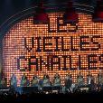 """Premier concert """"Les Vieilles Canailles"""" au POPB de Paris-Bercy à Paris, du 5 au 10 novembre 2014."""
