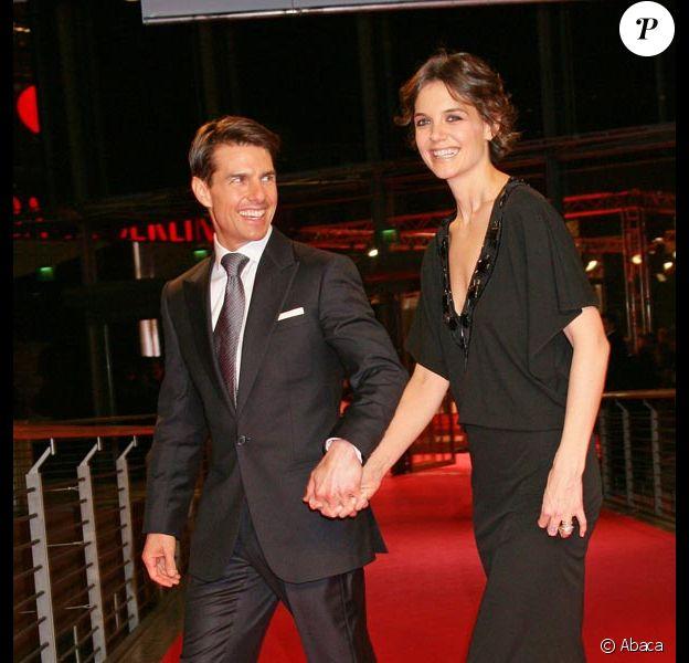 Katie Holmes éclipse Tom Cruise à la première de Walkyrie, à Berlin. 20/01/09