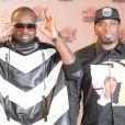 Maître Gims et Dawala (Wati B) - Arrivées à la 17ème cérémonie des NRJ Music Awards 2015 au Palais des Festivals à Cannes, le 7 novembre 2015.