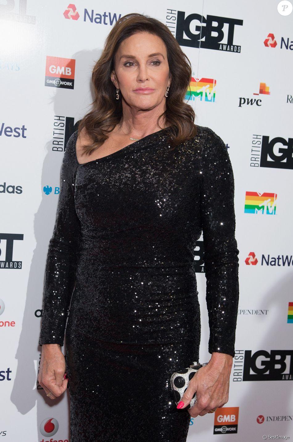 """Caitlyn Jenner lors de la soirée """"British LGBT Awards"""" à Londres le 12 mai 2017."""