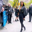 Kim Kardashian arrive au Rockefeller Center à New York, le 15 mai 2017.