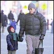 Matthew Broderick et son fils... deux vrais Esquimaux !