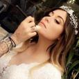 """"""" Anaïs Camizuli et Eddy le 13 mai 2017, à l'occasion du mariage de la première avec un certain Sultan.    """""""