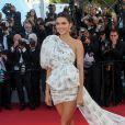 """Kendall Jenner, habillée par Giambattista Valli - Montée des marches du film """"120 battements par minute"""" lors du 70ème Festival International du Film de Cannes. Le 20 mai 2017. © Borde-Jacovides-Moreau / Bestimage"""