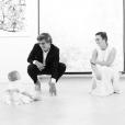 Antoine Griezmann et Erika Choperena avec leur fille Mia, 1 an, photo Instagram du 7 mai 2017, une date spéciale...