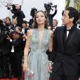 Adrien Brody et sa compagne Lara Lieto -Montée des marches de la soirée du 70ème anniversaire du Festival de Cannes. Le 23 mai 2017. © Borde-Jacovides-Moreau / Bestimage
