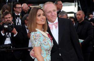 Salma Hayek, Laury Thilleman, Mathieu Kassovitz... Les couples in love à Cannes