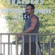 Colin Farrell se rend à son cours de gym à West Hollywood. Le 9 septembre 2014