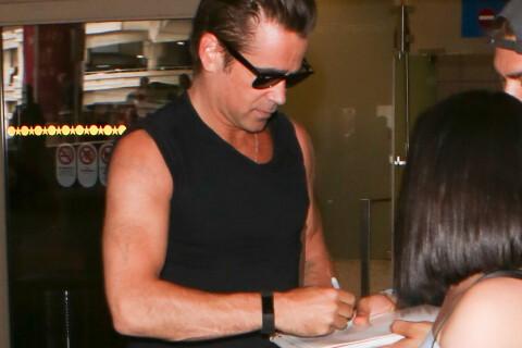 Colin Farrell : Bye bye les tatouages, il arbore des bras presque vierges