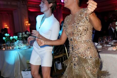 Eva Longoria : Danse endiablée avec Alessandra Sublet devant Tal