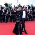 Thomas Hollande et sa compagne Emilie Broussouloux - Montée des marches de la cérémonie de clôture du 70ème Festival International du Film de Cannes. Le 28 mai 2017. © Borde-Jacovides-Moreau / Bestimage