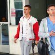 Justin Bieber sort de chez le médecin à Béverly Hills le 23 janvier 2017.