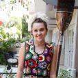 """Miley Cyrus en conférence de presse pour la série tv """"Crisis in Six Scenes"""" à l'hôtel Four Seasons de Beverly Hills. Los Angeles, le 7 septembre 2016."""