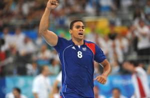 La star de l'équipe de France de handball Daniel Narcisse... papa pour la deuxième fois !