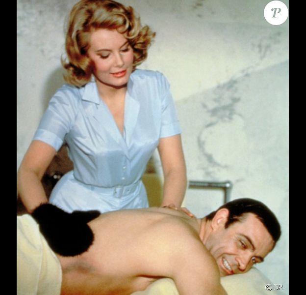 Molly Peters et Sean Connery dans Opération Tonnerre (1965)