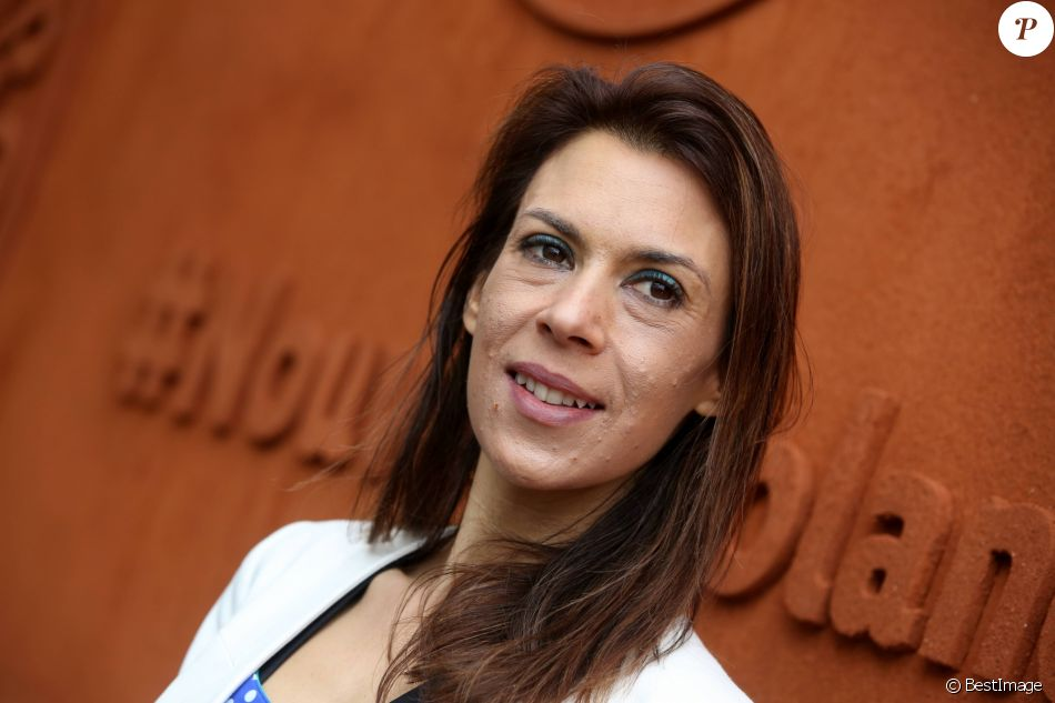Marion Bartoli - People au village des internationaux de France de tennis à Roland Garros à Paris 4 juin 2016. © Dominique Jacovides / Bestimage