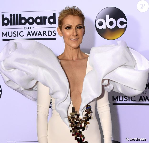 Céline Dion à la soirée Billboard Music Awards au T-Mobile Arena dans le Nevada, le 21 mai 2017 © Chris Delmas/Bestimage