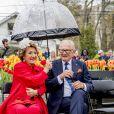 La princesse Margriet et son mari Pieter van Vollenhoven au jardin botanique de Burlington le 16 mai 2017. 16/05/2017 - Burlington