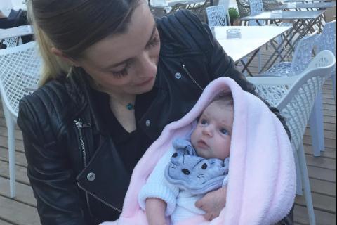 """Alexia Mori (Secret Story 7), sa première sortie avec bébé : """"C'était stressant"""""""